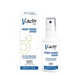 IntimWebshop | V-Activ Penis Power Spray for Men - 50ml