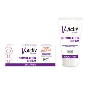 IntimWebshop | V-Activ STIMULATION CREAM for WOMEN - 50ml