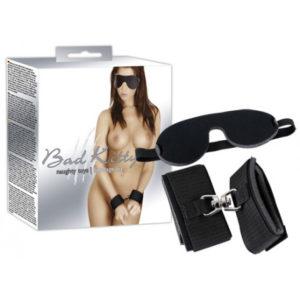 IntimWebshop | Bad Kitty Wristcuffs Eyemask