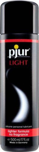 IntimWebshop - Szexshop | pjur LIGHT Bottle Szilikonbázisú Síkosító 500ml